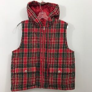 Jones New York Sport Hooded Vest